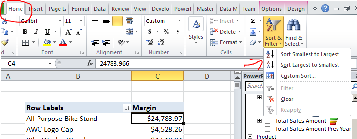 how to build a data cube in excel